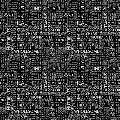 Health and Fitness Word Puzzle
