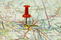 Map of Las Vegas, NV