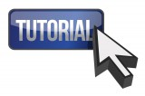 Tutorial Button with Arrow Pointing to it