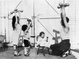 Old school family fitness