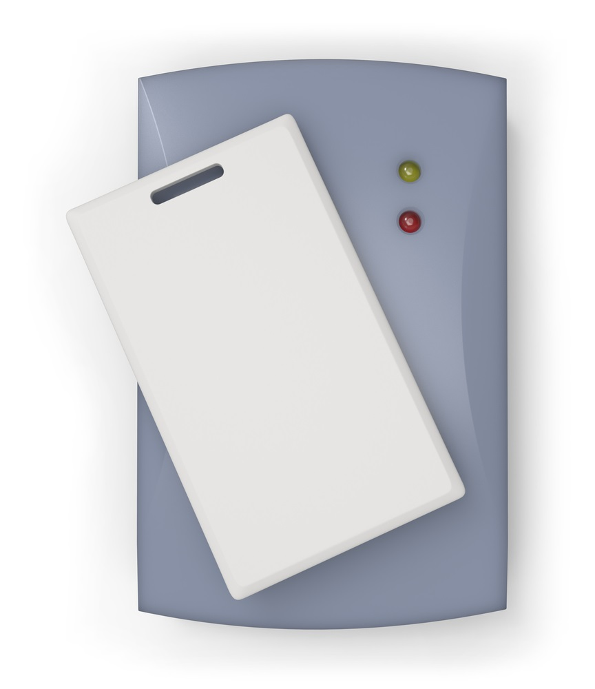RFID card and reader