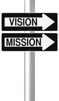 vision one way sign